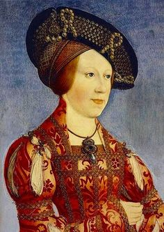 "María(1505–1558),Queen consort of Hungary and Bohemia,Governor of the Habsburg Netherlands. Juana´s 5th child. Portrait of the Queen by Hans Maler zu Schwaz painted in Innsbruck around 1520. ""The most serene queen is about twenty-two years old, of diminutive stature, long and narrow face, rather comely, very spare, with a slight colour, black eyes, her under lip rather thick, lively, never quiet either at home or abroad."" A description of Mary by the Venetian ambassador at the Hungarian…"