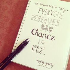 defying gravity, wicked the musical lyrics quote - typography & hand-lettering