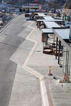 Kollektivterminal Lagunen - Arkitektgruppen Cubus - Reminds me of my bus station project