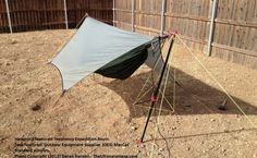 Hanging a hammock temporarily without trees.  Looking to get into hammock camping?  We've got you covered...  http://www.osograndeknives.com/store/catalog/hammocks-tents-and-shelters-412-1.html