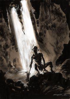 Gollum by Cinar.deviantart.com on @deviantART