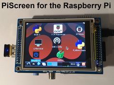 "PiScreen: A 3.5"" TFT with touchscreen for the Raspberry Pi by Mark Williams — Kickstarter.  All the hardware needed to add a 3.5"" TFT (480x320) with touchscreen control to your Raspberry Pi, never need a monitor again!"