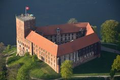 Kolding, Denmark. Just north of Christiansfeld is the town of Kolding, with attractions such as the Koldinghus castle, a botanical garden and a charming old town district with lots of restaurants and museums. Plus, it's only half an hour away from Legoland.