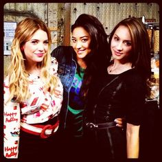 Spencer, Emily, Hanna