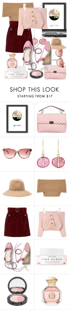 """Travel to Cape Town✈️"" by mdfletch ❤ liked on Polyvore featuring Americanflat, Valentino, Gucci, Melissa Joy Manning, Eugenia Kim, Blue Vanilla, AlexaChung, RED Valentino, Gap and Herbivore"