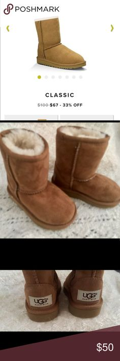 UGG Classic boots toddlers Size 6 for toddlers. Please see pictures for complete description. UGG Shoes Boots