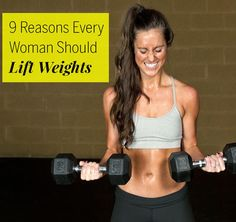 Any woman who wants to blast belly fat, burn more calories, fight osteoporosis, and ease joint pain should start lifting weights.