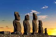 Easter Island.Must go. #travel #vacation #dream #places #spots