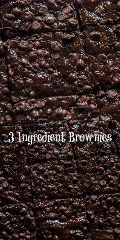 Vegetarian Breakfast Recipes Indian, Indian Food Recipes, 3 Ingredient Brownies, Food Carving, Chocolate Brownies, Food Service, Ice Cream Recipes, Brownie Recipes, 3 Ingredients