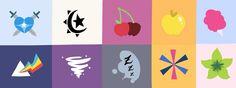 Next generation mlp cutie marks