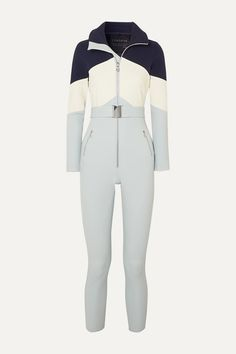 Cordova Alta Belted Stretch Ski Suit In Light Blue Sporty Outfits, Cute Outfits, Suit Fashion, Fashion Outfits, Space Fashion, Womens Wetsuit, Moon Boots, Snow Suit, High Fashion