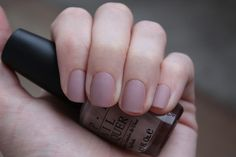 OPI Tickle Me France-y + Essie Matte About You by cheshirkgd, via Flickr