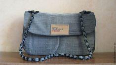 Джинсовый клатч – купить в интернет-магазине на Ярмарке Мастеров с доставкой