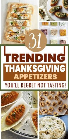 Best Thanksgiving Appetizers, Thanksgiving Dinners, Fun Appetizers, Thanksgiving Activities, Thanksgiving Side Dishes, Appetizer Recipes, Fall Recipes, Holiday Recipes, Foreplay