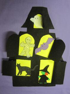 Flannel Friday: Haunted House - RovingFiddlehead KidLit