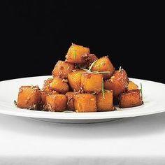 Honungsglaserad kålrot med ingefära. Recept: https://www.coop.se/Recept--mat/Recept/h/honungsglaserad-kaalrot-med-ingefaera/