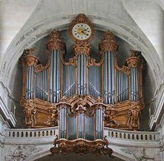 Les grandes orgues historiques de l'église Saint-Roch (Paris)