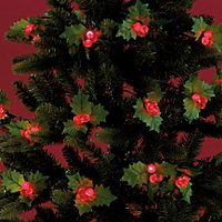 20 Holly and Berry Christmas Lights #HomebaseMumsnetXmas #HomebaseMumsnetXmas
