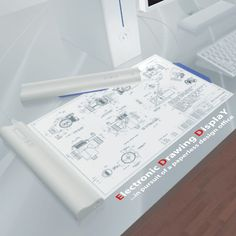 EDDY...Electronic Drawing Display makes the paperless office a possibility!