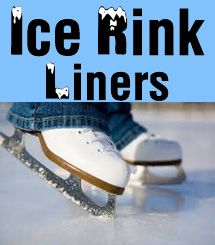 Bright White Ice Rink Liners for DIY Backyard Ice Skating Rinks #DIYIceRink http://www.americover.com/ice_rink_liners_69_ctg.htm