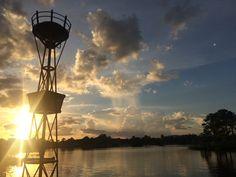 Sunset at Epcot, Florida