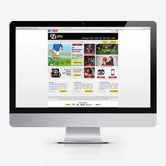 iZiplay - Nuovo restyling grafico e sviluppo #website