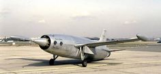 Leduc 021,was a research aircraft built in France, one of the world's first aircraft to fly powered solely by a ramjet.