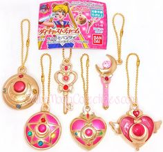 """sailor moon"" ""sailor moon gashapon"" ""sailor moon merchandise"" ""sailor moon toys"" ""sailor moon anime"" ""sailor moon wand"" ""sailor moon compact"" diecast charm 2014 anime japan toy"