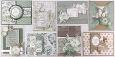 Card, Album and Project Kits Thank You Wishes, Scrapbook Page Layouts, Scrapbooking Ideas, Beautiful Handmade Cards, Pretty Cards, Card Kit, Paper Cards, Mini Albums, Making Ideas