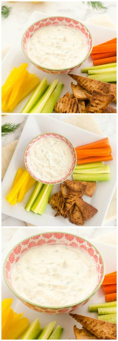 Greek Tzatziki Dip is light and refreshing, and perfect as a dip or sauce!