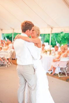 Caleb and Kelsey dancing #GrimmWedding2014
