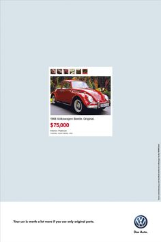 Volkswagen Original Parts: Komli, Beetle, Golf