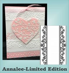 Annalee Limited Edition Embossing Folders by Couture Creation for All Machines
