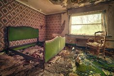 Matthias Haker abandoned homes