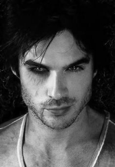 Damon Salvatore | The Vampire Diaries | Those are eyes that make you want to get into trouble!