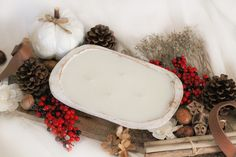 Rustic White, Rustic Wood, Homemade Soy Candles, Boat Decor, Wood Bowls, Wood Pieces, Rustic Style, Hand Carved, Christmas Wreaths