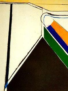 Richard Diebenkorn / Untitled / 1969 / lithograph / SFMOMA