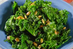 A Healthful Kale Recipe That's Got Three Superfoods! : Chef Calvin Harris shares with us his healthy, easy-to-make kale recipe. #SelfMagazine