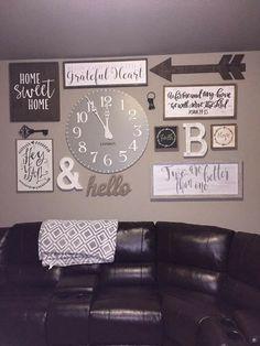 99 DIY Farmhouse Living Room Wall Decor And Design Ideas (10)