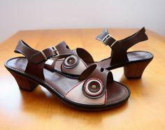 Sandałki skórzane. Pojedyncze pary. Rabat 35% - tylko w butiku na Chmielnej 9