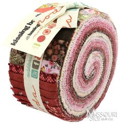 Kissing Booth Jelly Roll from Missouri Star Quilt Co