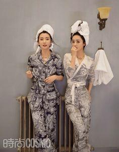 Zhao Liying and Li Bingbing cover fashion magazine | China Entertainment News Li Bingbing, Zhao Li Ying, Chinese Actress, Actors & Actresses, Jumpsuit, Magazine, Pants, Dresses, Entertainment