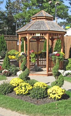 gazebos with seating 119 x 93 FT 36 x 28m Wooden Gazebo