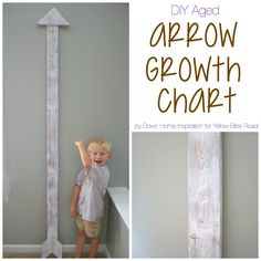 Hi everyone, it's Kristen from Down Home Inspiration and I'm glad to be back again to share another project! This month I am showing you how to build a DIY aged arrow growth chart. A chart that can move around from room to room or house to house and you'll never have to pull up …
