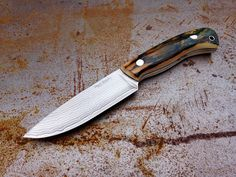 #489, Suminagashi and Mammoth Ivory... - Stuart Mitchell Knives - Edge Matters Discussion Forum