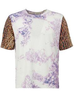 SAINT LAURENT Tie Dye T-Shirt. #saintlaurent #cloth #t-shirt