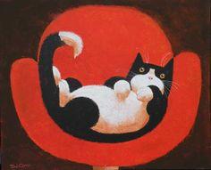 RELAXING CAT - Toni Goffe