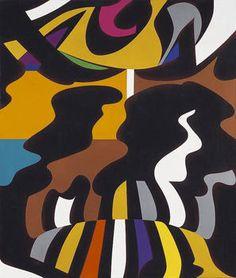 Simún (2003) Acrílico sobre tela - Rogelio Polesello (Argentina 1939-2014)