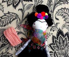 #dolls #Frida Doll/ Handmade Doll/ OOAK Doll/ Little by thedollsunique