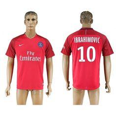 Paris Saint Germain PSG 16-17 Zlatan Ibrahimovic 10 Bortedraktsett Kortermet   #Billige  #Fotballdrakter